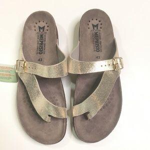Mephisto Gold Helen sandals